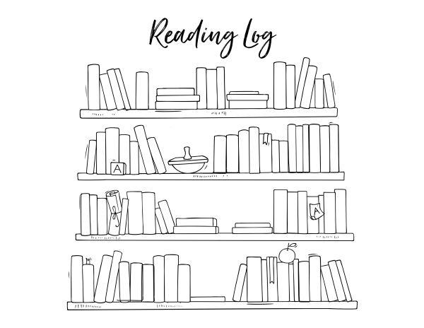Homeschool Printables Reading Log