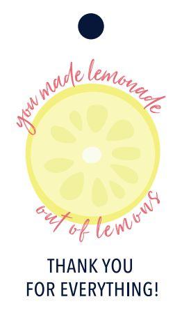 Teacher you lemonade out of lemons