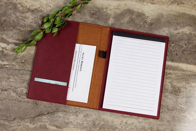Personalized Portfolio & Notepads