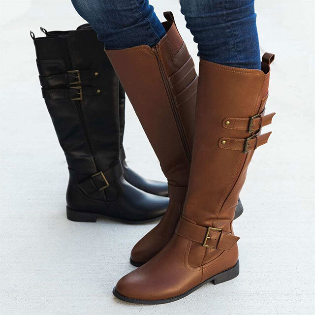 Classic riding boots in brown and black.
